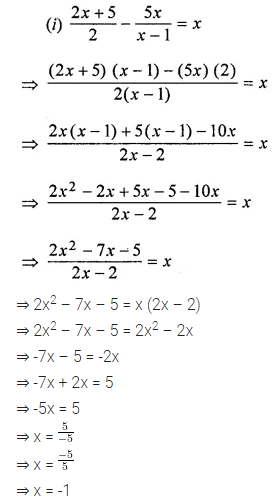ML Aggarwal Class 8 Solutions for ICSE Maths Chapter 12 Linear Equations and Inequalities in one Variable Ex 12.1 18