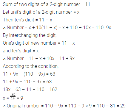 ML Aggarwal Class 8 Solutions for ICSE Maths Chapter 12 Linear Equations and Inequalities in one Variable Ex 12.2 12