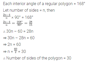 ML Aggarwal Class 8 Solutions for ICSE Maths Chapter 13 Understanding Quadrilaterals Check Your Progress 14