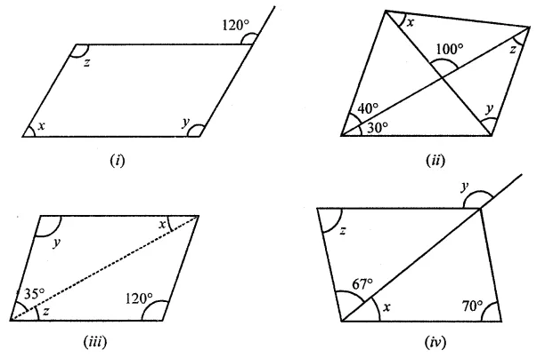 ML Aggarwal Class 8 Solutions for ICSE Maths Chapter 13 Understanding Quadrilaterals Ex 13.2 3