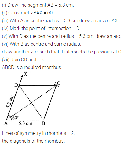 ML Aggarwal Class 8 Solutions for ICSE Maths Chapter 16 Symmetry Reflection and Rotation 5