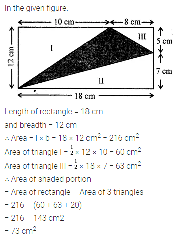 ML Aggarwal Class 8 Solutions for ICSE Maths Chapter 18 Mensuration Ex 18.1 18