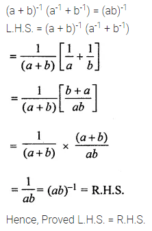 ML Aggarwal Class 8 Solutions for ICSE Maths Chapter 2 Exponents and Powers Check Your Progress 11