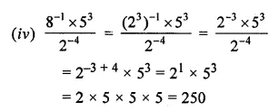 ML Aggarwal Class 8 Solutions for ICSE Maths Chapter 2 Exponents and Powers Ex 2.1 14