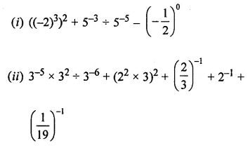 ML Aggarwal Class 8 Solutions for ICSE Maths Chapter 2 Exponents and Powers Ex 2.1 15