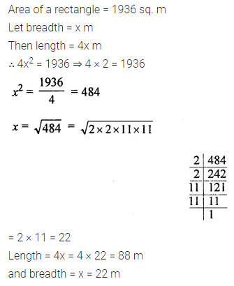 ML Aggarwal Class 8 Solutions for ICSE Maths Chapter 3 Squares and Square Roots Ex 3.3 24