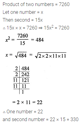 ML Aggarwal Class 8 Solutions for ICSE Maths Chapter 3 Squares and Square Roots Ex 3.3 27