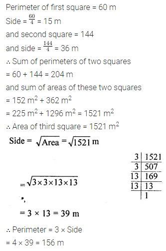 ML Aggarwal Class 8 Solutions for ICSE Maths Chapter 3 Squares and Square Roots Ex 3.3 29