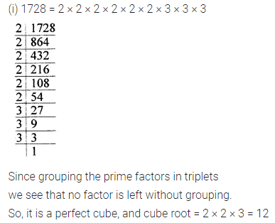 ML Aggarwal Class 8 Solutions for ICSE Maths Chapter 4 Cubes and Cube Roots Ex 4.1 4