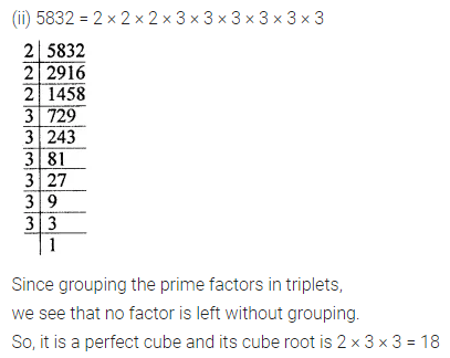 ML Aggarwal Class 8 Solutions for ICSE Maths Chapter 4 Cubes and Cube Roots Ex 4.1 5