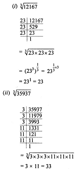 ML Aggarwal Class 8 Solutions for ICSE Maths Chapter 4 Cubes and Cube Roots Ex 4.2 1