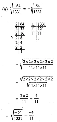ML Aggarwal Class 8 Solutions for ICSE Maths Chapter 4 Cubes and Cube Roots Ex 4.2 11
