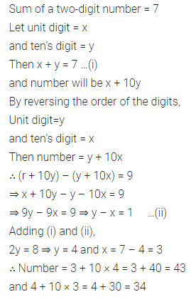 ML Aggarwal Class 8 Solutions for ICSE Maths Chapter 5 Playing with Numbers Check Your Progress 1