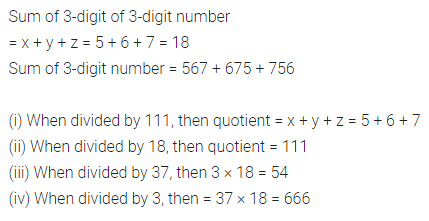 ML Aggarwal Class 8 Solutions for ICSE Maths Chapter 5 Playing with Numbers Check Your Progress 3