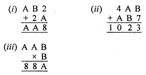 ML Aggarwal Class 8 Solutions for ICSE Maths Chapter 5 Playing with Numbers Check Your Progress 4