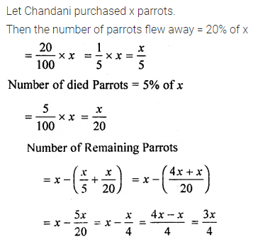 ML Aggarwal Class 8 Solutions for ICSE Maths Chapter 7 Percentage Ex 7.1 30