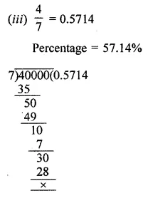 ML Aggarwal Class 8 Solutions for ICSE Maths Chapter 7 Percentage Ex 7.1 9