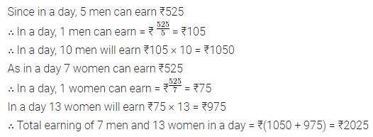 ML Aggarwal Class 8 Solutions for ICSE Maths Chapter 9 Direct and Inverse Variation Ex 9.1 21