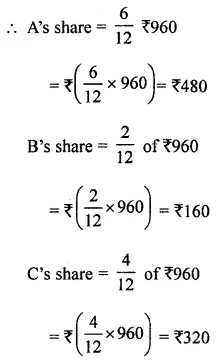 ML Aggarwal Class 8 Solutions for ICSE Maths Chapter 9 Direct and Inverse Variation Ex 9.3 12