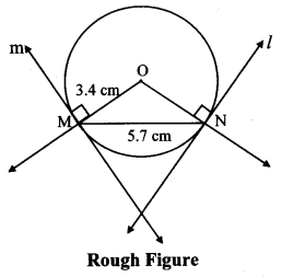 Maharashtra Board Class 10 Maths Solutions Chapter 4 Geometric Constructions Practice Set 4.2 7