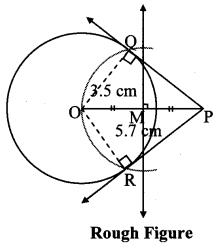 Maharashtra Board Class 10 Maths Solutions Chapter 4 Geometric Constructions Problem Set 4 1