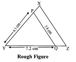 Maharashtra Board Class 10 Maths Solutions Chapter 4 Geometric Constructions Problem Set 4 13