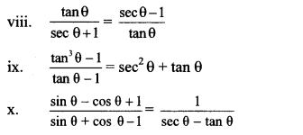 Maharashtra Board Class 10 Maths Solutions Chapter 6 Trigonometry Problem Set 6 6