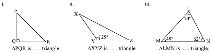 Maharashtra Board Class 6 Maths Solutions Chapter 15 Triangles and their Properties Practice Set 36 1