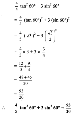 Maharashtra Board Class 9 Maths Solutions Chapter 8 Trigonometry Practice Set 8.2 32
