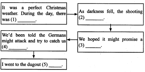 Tamilnadu Board Class 9 English Solutions Supplementary Chapter 7 The Christmas Truce - 1