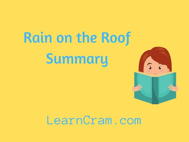 Rain on the Roof Summary