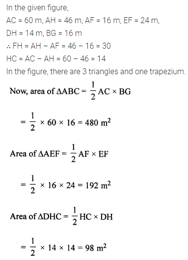 ML Aggarwal Class 8 Solutions for ICSE Maths Chapter 18 Mensuration Check Your Progress 11