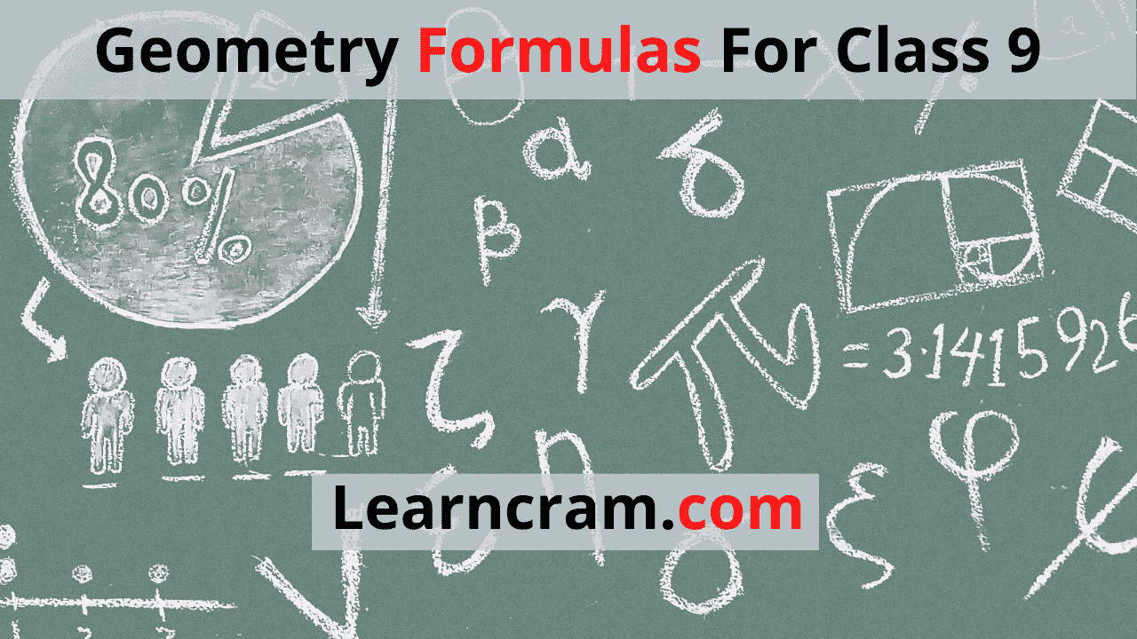 Geometry Formulas For Class 9