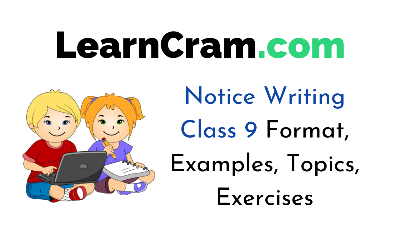 Notice Writing for Class 9