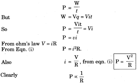 Electricity Class 10 Extra Questions with Answers Science Chapter 12 2