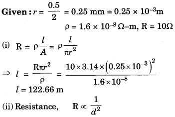 Electricity Class 10 Extra Questions with Answers Science Chapter 12 39