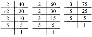 Maharashtra Board Class 7 Maths Solutions Chapter 3 HCF and LCM Practice Set 12 3