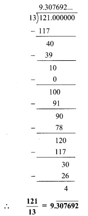 Maharashtra Board Class 9 Maths Solutions Chapter 2 Real Numbers Practice Set 2.1 10