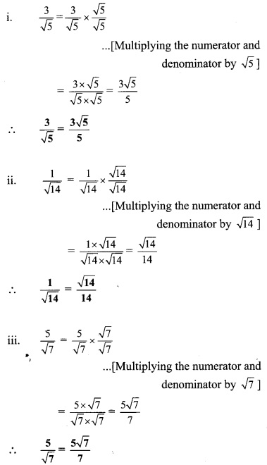 Maharashtra Board Class 9 Maths Solutions Chapter 2 Real Numbers Practice Set 2.3 25