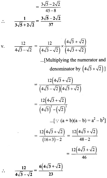 Maharashtra Board Class 9 Maths Solutions Chapter 2 Real Numbers Problem Set 2 33