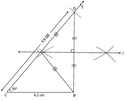 Maharashtra Board Class 9 Maths Solutions Chapter 4 Constructions of Triangles Practice Set 4.1 6