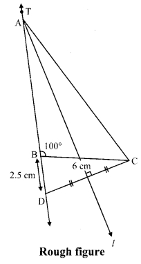 Maharashtra Board Class 9 Maths Solutions Chapter 4 Constructions of Triangles Practice Set 4.2 5