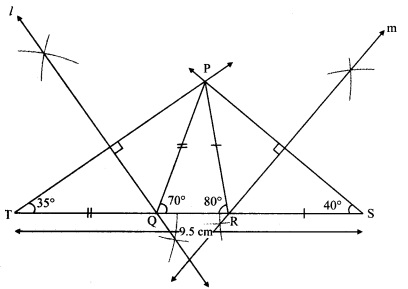 Maharashtra Board Class 9 Maths Solutions Chapter 4 Constructions of Triangles Practice Set 4.3 2