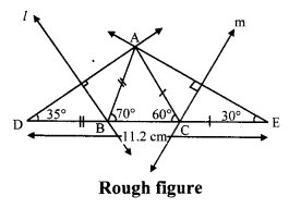 Maharashtra Board Class 9 Maths Solutions Chapter 4 Constructions of Triangles Problem Set 4 3