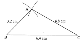 Maharashtra Board Class 9 Maths Solutions Chapter 4 Constructions of Triangles Problem Set 4 6
