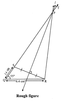 Maharashtra Board Class 9 Maths Solutions Chapter 4 Constructions of Triangles Problem Set 4 7