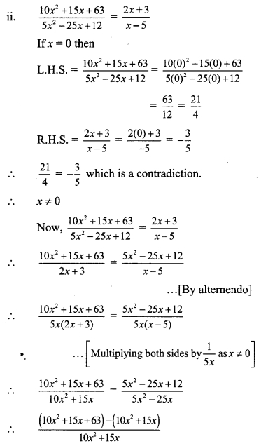 Maharashtra Board Class 9 Maths Solutions Chapter 4 Ratio and Proportion Practice Set 4.3 16
