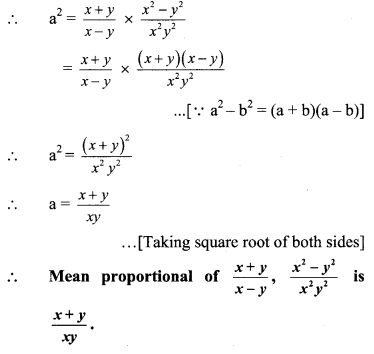Maharashtra Board Class 9 Maths Solutions Chapter 4 Ratio and Proportion Practice Set 4.5 4