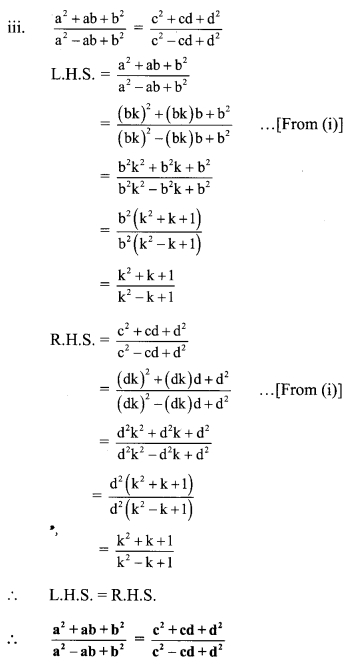 Maharashtra Board Class 9 Maths Solutions Chapter 4 Ratio and Proportion Problem Set 4 20