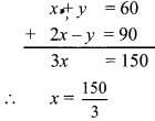 Maharashtra Board Class 9 Maths Solutions Chapter 5 Linear Equations in Two Variables Practice Set 5.2 10